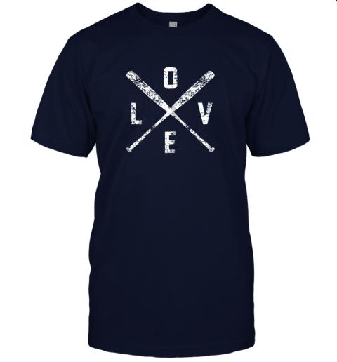jzyv love baseball bats shirt baseball mom softball dad gift jersey t shirt 60 front navy