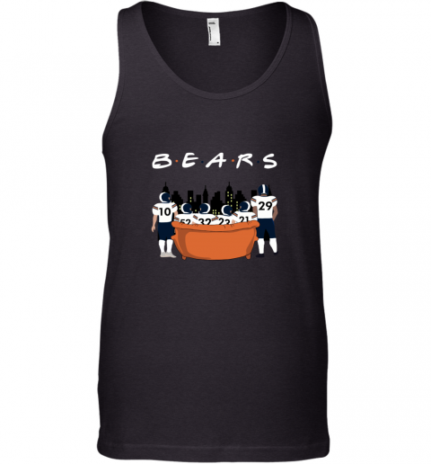 The Chicago Bears Together F.R.I.E.N.D.S NFL Tank Top