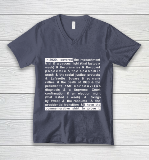 Jim Acosta V-Neck T-Shirt 7