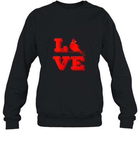 Classic Love St. Louis Missouri Baseball Fan Retro Sweatshirt