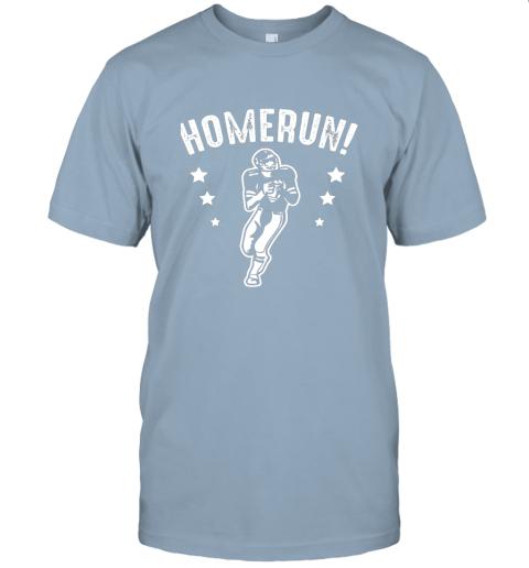 x9su homerun football baseball mix wrong sports jersey t shirt 60 front light blue