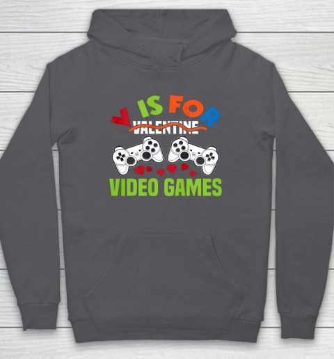 Funny Video Games Lover Valentine Day Hoodie 4