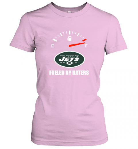 l73d fueled by haters maximum fuel new york jets ladies t shirt 20 front light pink