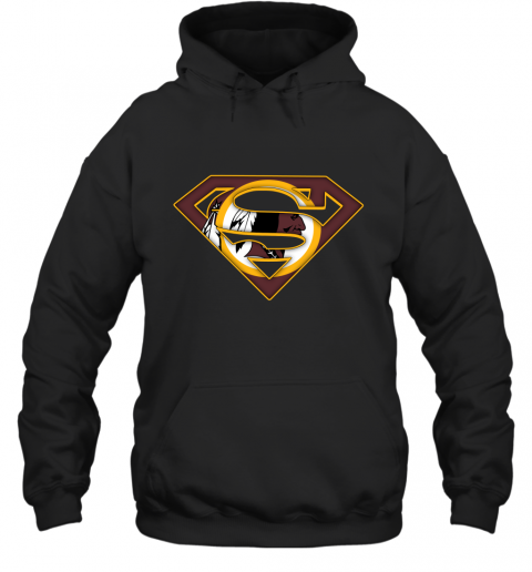We Are Undefeatable The Washington Redskins x Superman NFL Hoodie
