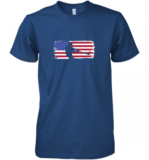 tk9z usa american flag baseball player perfect gift premium guys tee 5 front royal