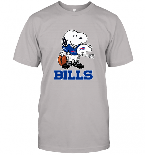 Snoopy A Strong And Proud Buffalo Bills Player NFL Unisex Jersey Tee