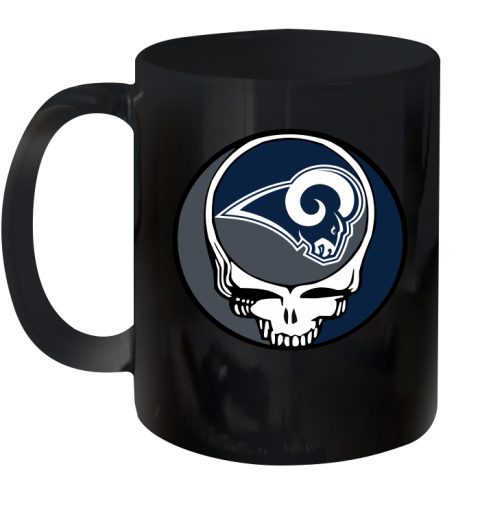 Los Angeles Rams Grateful Dead Steal Your Face Football Nfl Shirts Mugs