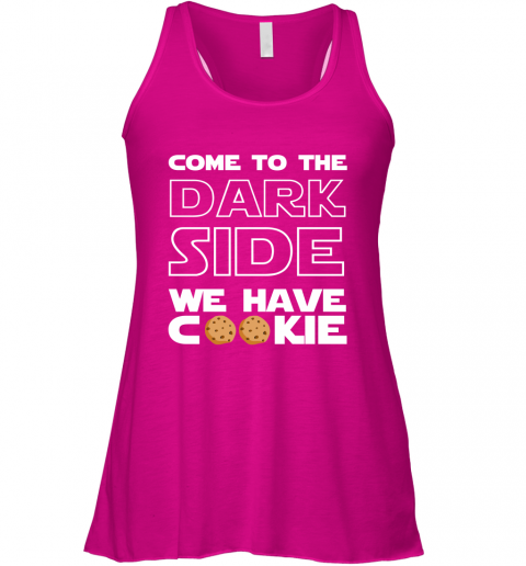Star War Come To The Dark Side We Have Cookies Racerback Tank
