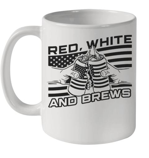 Red White And Brews Ceramic Mug 11oz