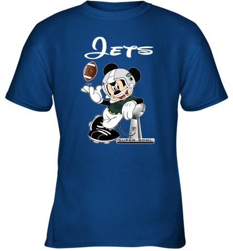 0x70 mickey jets taking the super bowl trophy football youth t shirt 26 front royal