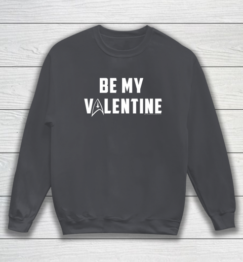 Star Trek Be My Valentine Delta Badge Graphic Sweatshirt 4