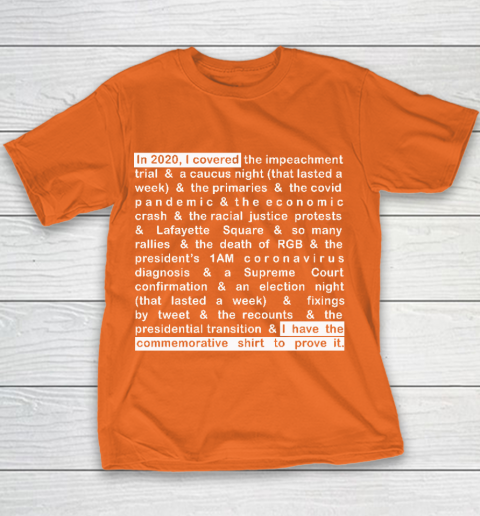 Jim Acosta Youth T-Shirt 4