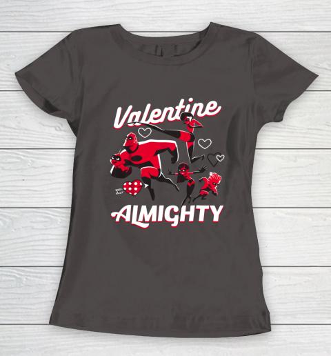 Disney Pixar Incredibles Family Valentine Almighty Women's T-Shirt 7