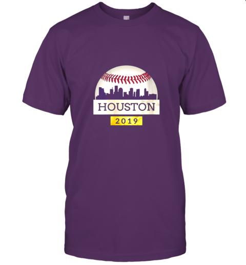 j2px houston baseball shirt 2019 astro skyline on giant ball jersey t shirt 60 front team purple