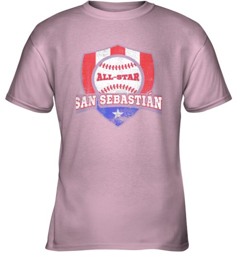 1nbq san sebastian puerto rico puerto rican pr baseball youth t shirt 26 front light pink