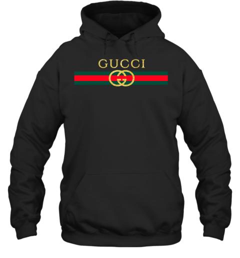 Gucci Logo Glitter Vintage Inspired Trend Adult Hoodie Sweatshirt