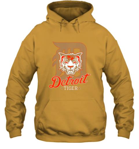 pwkk tiger mascot distressed detroit baseball t shirt new hoodie 23 front gold