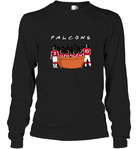 NFL  Atlanta Falcons Together F.R.I.E.N.D.S Long Sleeve T-Shirt