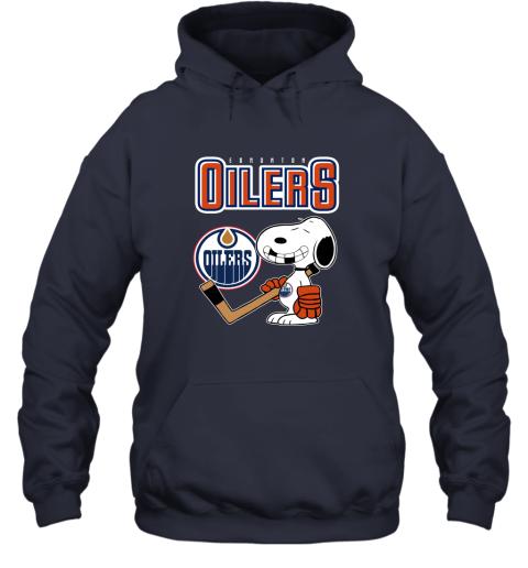 ubp1 edmonton oilers ice hockey broken teeth snoopy nhl shirt hoodie 23 front navy