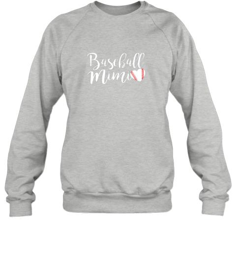 wj5g funny baseball mimi shirt gift sweatshirt 35 front sport grey