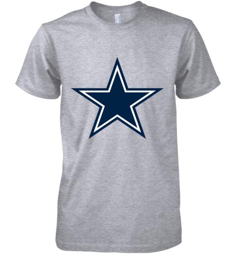 Dallas Cowboys NFL Pro Line by Fanatics Branded Gray Victory Premium Men's T-Shirt