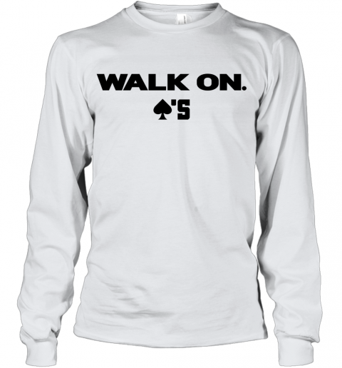 baker mayfield walk on Youth Long Sleeve