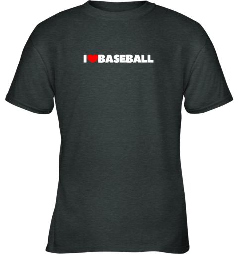 12vp i love heart baseball youth t shirt 26 front dark heather