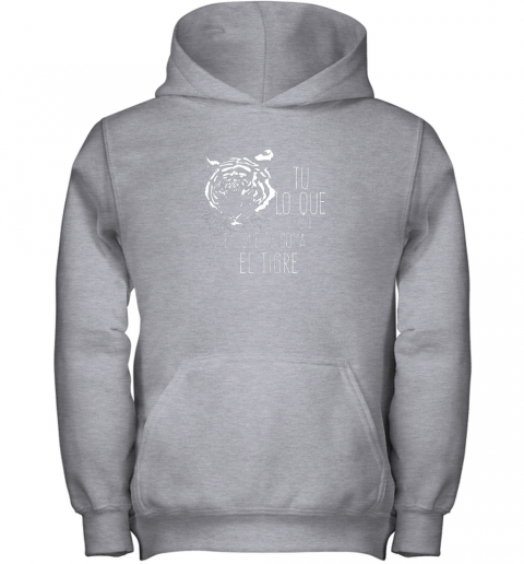 1or2 tigres dominican baseball spanish espanol cool youth hoodie 43 front sport grey