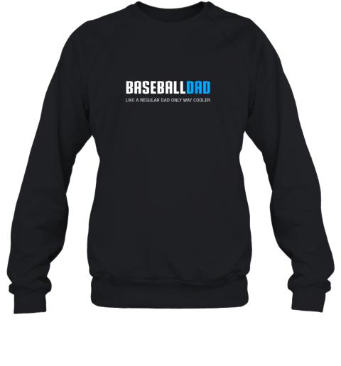 Mens Baseball Dad Shirt, Funny Cute Father's Day Gift Sweatshirt