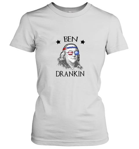 Day 4th Of July Ben Drankin Benjamin Franklin Women's T-Shirt