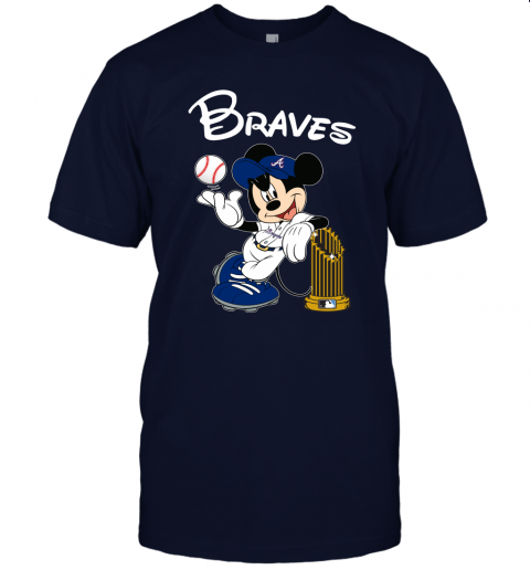 hnw2 atlanta braves mickey taking the trophy mlb 2019 jersey t shirt 60 front navy
