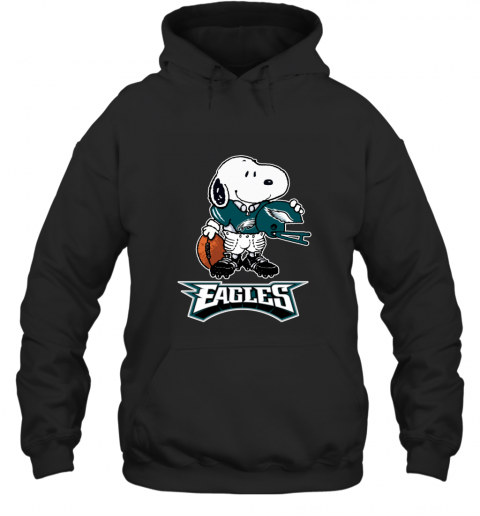 Snoopy A Strong And Proud Philadelphia Eagles NFL Hoodie