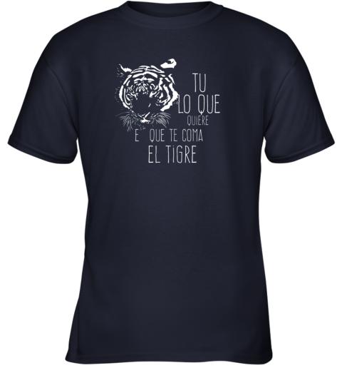 ckof tigres dominican baseball spanish espanol cool youth t shirt 26 front navy