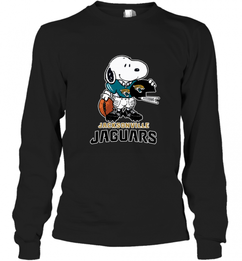 Snoopy A Strong And Proud Jacksonville Jaguars NFL Long Sleeve T-Shirt