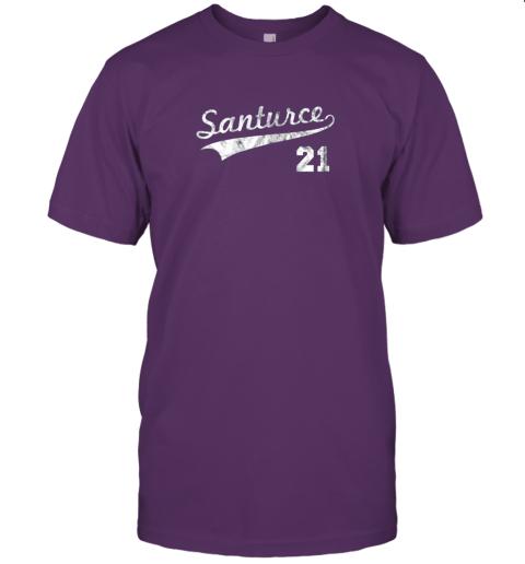 shyt vintage distressed santurce 21 puerto rico baseball jersey t shirt 60 front team purple