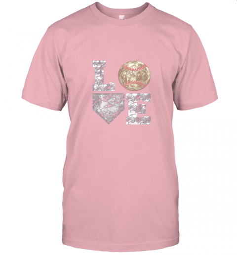 jwxh baseball distressed ball cute dad mom love gift jersey t shirt 60 front pink