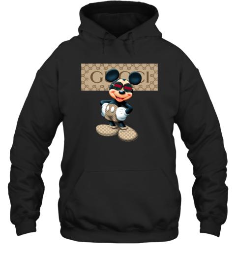 Gucci Mickey Gift Birthday Adult Hoodie Sweatshirt