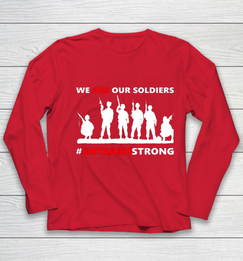 We Are Our Soldiers Youth Long Sleeve 8