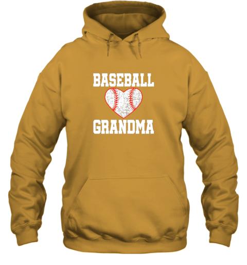 q4mx vintage baseball grandma funny gift hoodie 23 front gold