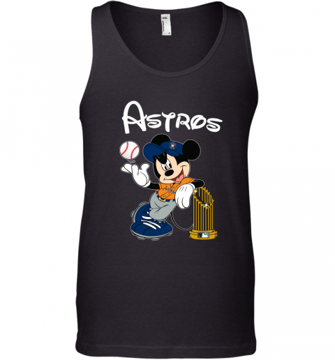 Astros Mickey Taking The Trophy MLB Tank Top
