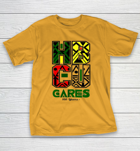 HBCU Cares College University Graduation Gift Black Schools T-Shirt 2