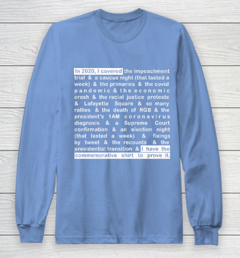 Jim Acosta Long Sleeve T-Shirt 8