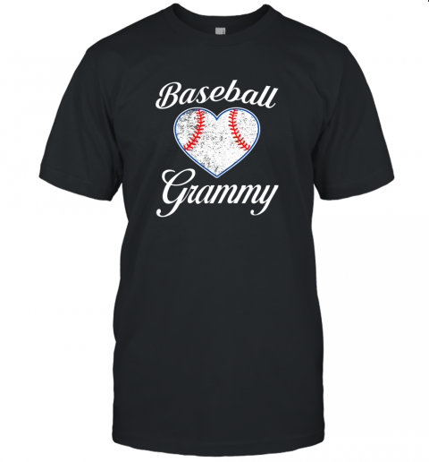 Womens Baseball Grammy Shirt Funny Mother's Day Gifts Mom Unisex Jersey Tee