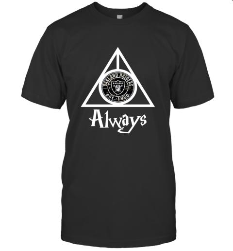 Always Love The Oakland Raiders x Harry Potter Mashup NFL T-Shirt