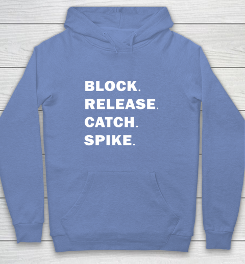 Block Release Catch Spike Youth Hoodie 8