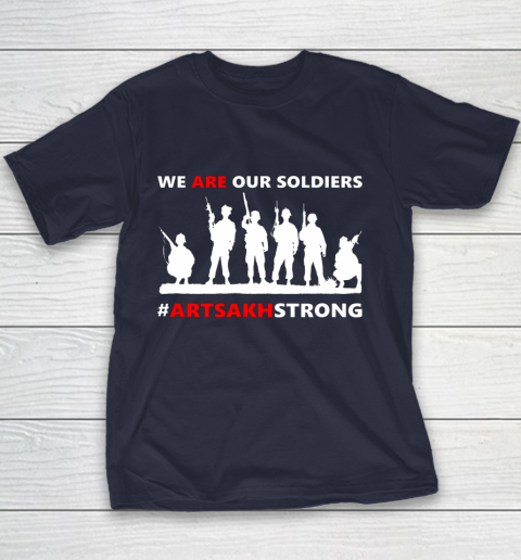 We Are Our Soldiers Youth T-Shirt 10