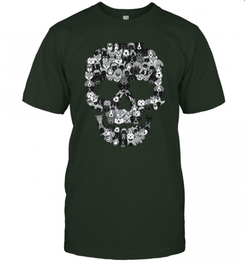 Dog Skull - Creepy Puppy Skeleton - Halloween Party Outfit T-Shirt