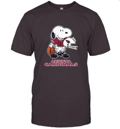 Snoopy A Strong And Proud Arizona Cardinals Player NFL Unisex Jersey Tee