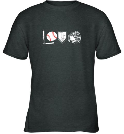 hqd1 i love baseball baseball heart youth t shirt 26 front dark heather