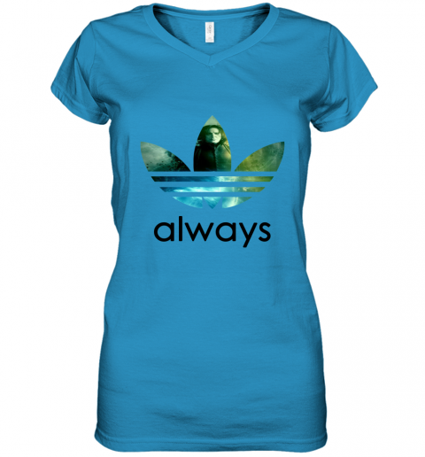 rmwk adidas severus snape always harry potter shirts women v neck t shirt 39 front sapphire
